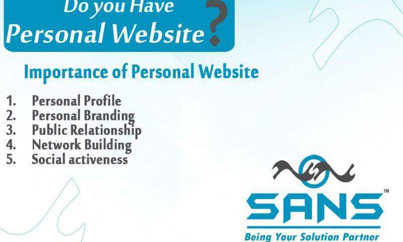 Personal websites